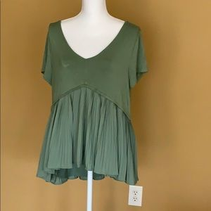 Green Swing blouse